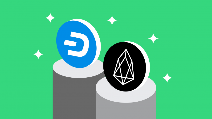 Dash and EOS land on Young Platform!