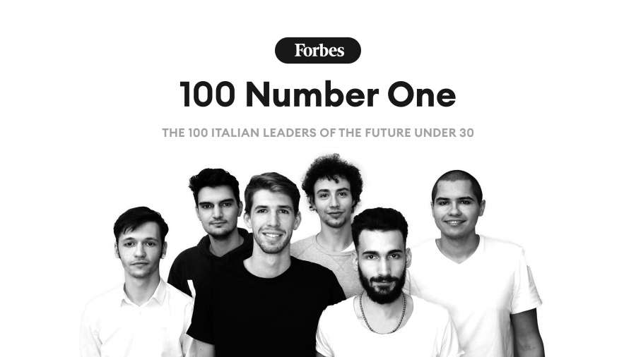 Young among the Leaders Under 30 of 2021 for Forbes Italia