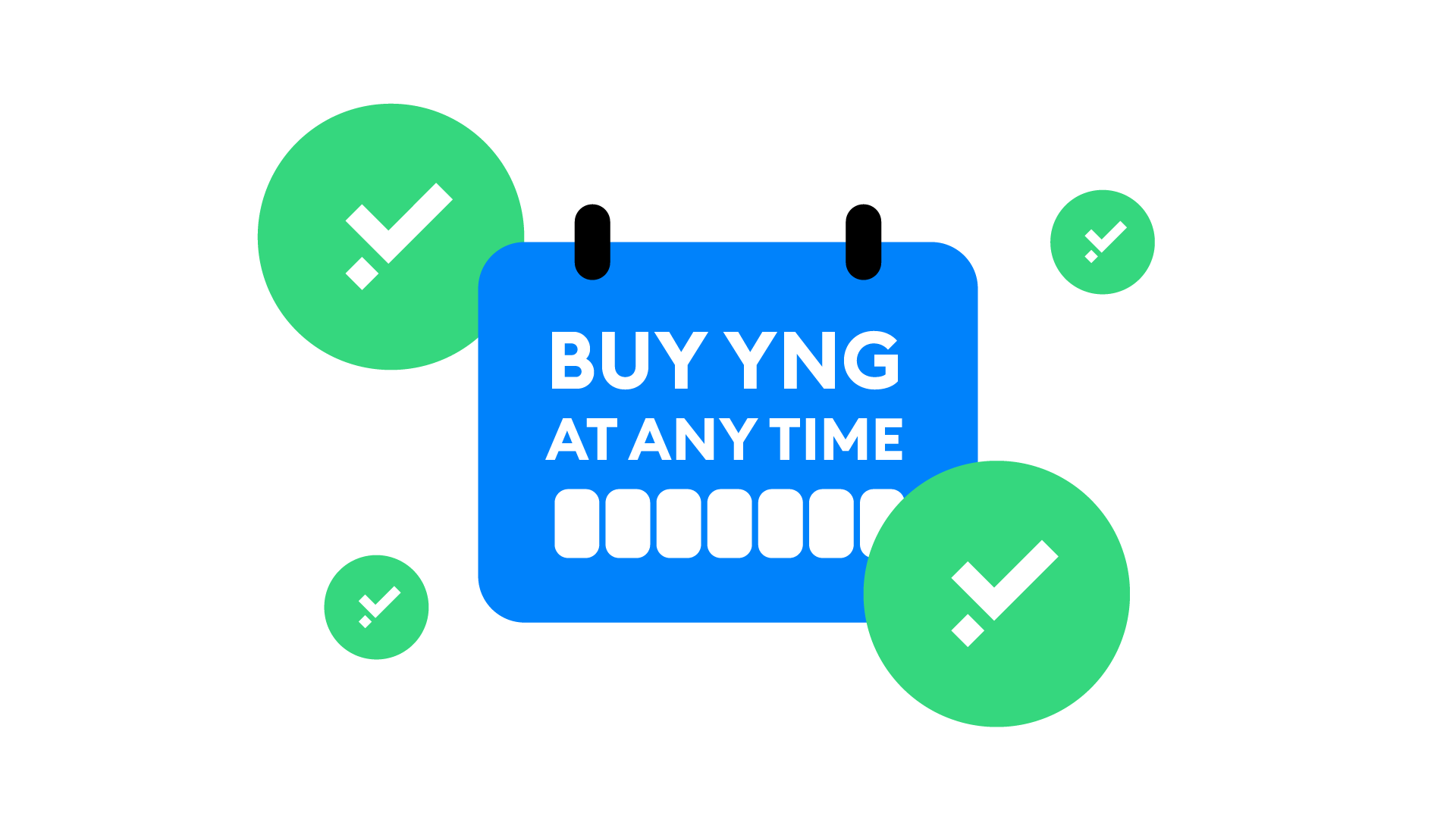 Buy the YNG token at any time!